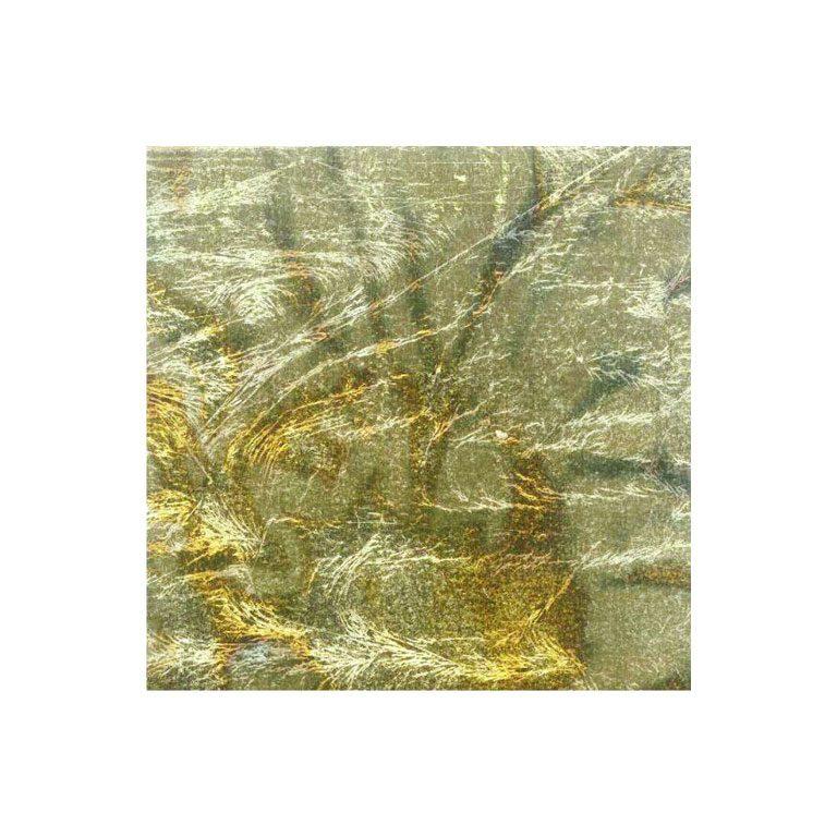 golden-leaves-oxidized-green-14x14cm